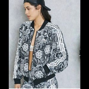Adidas cape jacket